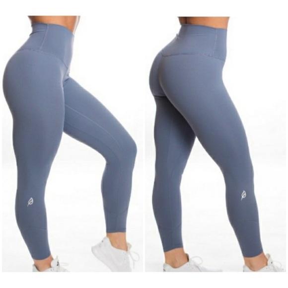 P Tula Pants Jumpsuits Ptula Alainah Slate Blue High Rise Full Length Poshmark Ptula legging comparison part 1. poshmark